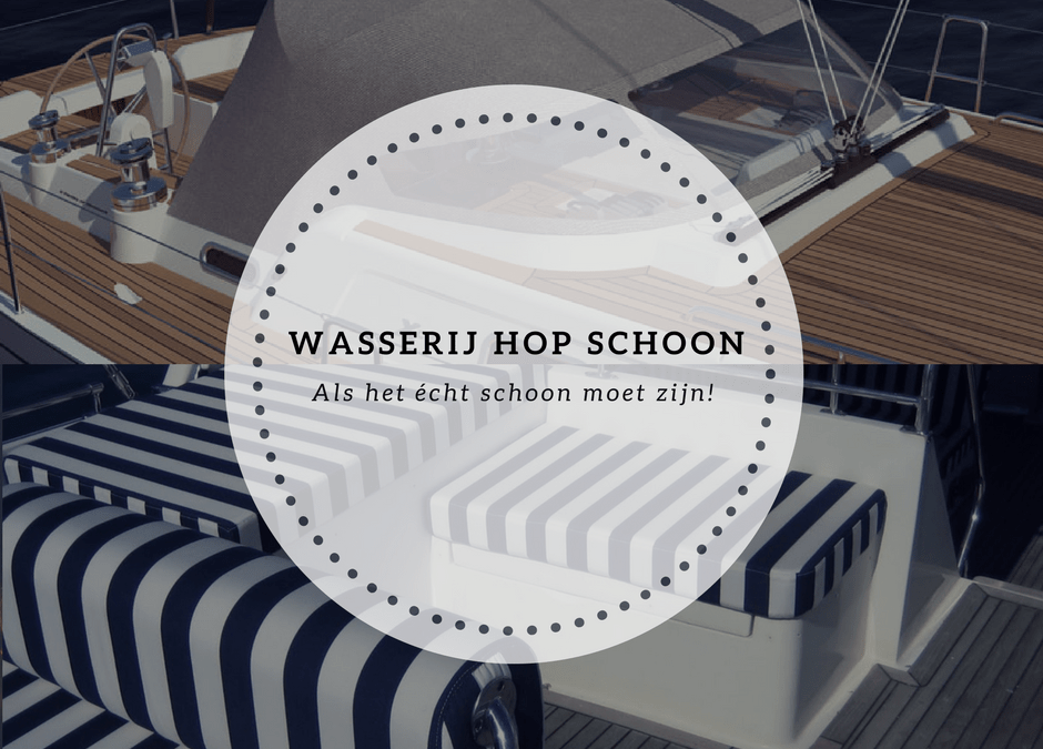 Bootkussens, jachtzeilen, bootkappen en buiskappen reinigen!